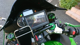 ZX14R バックアイモニター