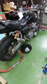 KZ900 エンジンオーバーホール