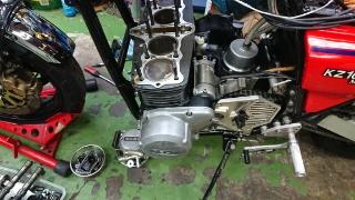 KZ1000エンジン