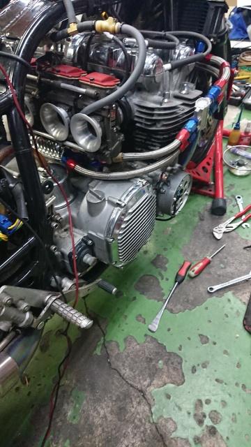 KZ1000 エンジンオーバーホール終了